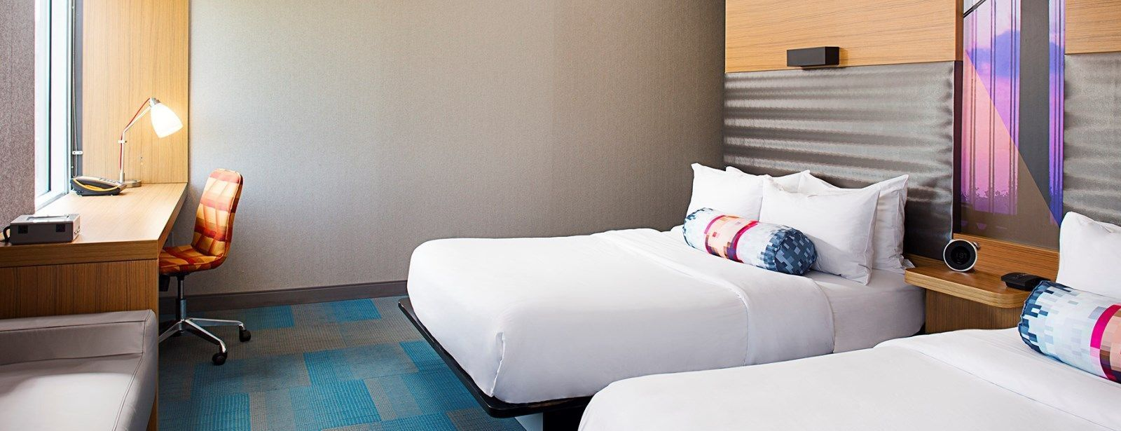 Philadelphia Accommodations - Aloft Queen Room